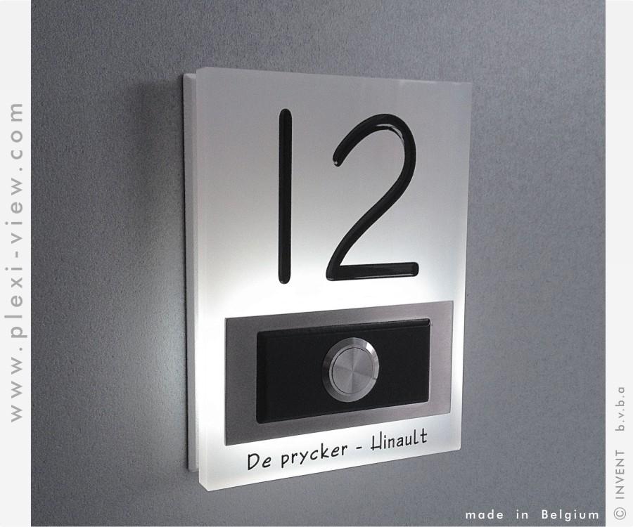 Bekend Deurbellen Led | Plexi-View FZ82