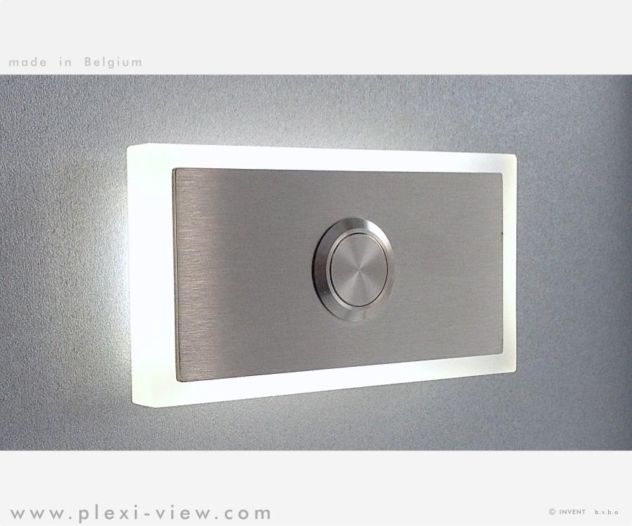 Fabulous Deurbellen Led | Plexi-View DC44
